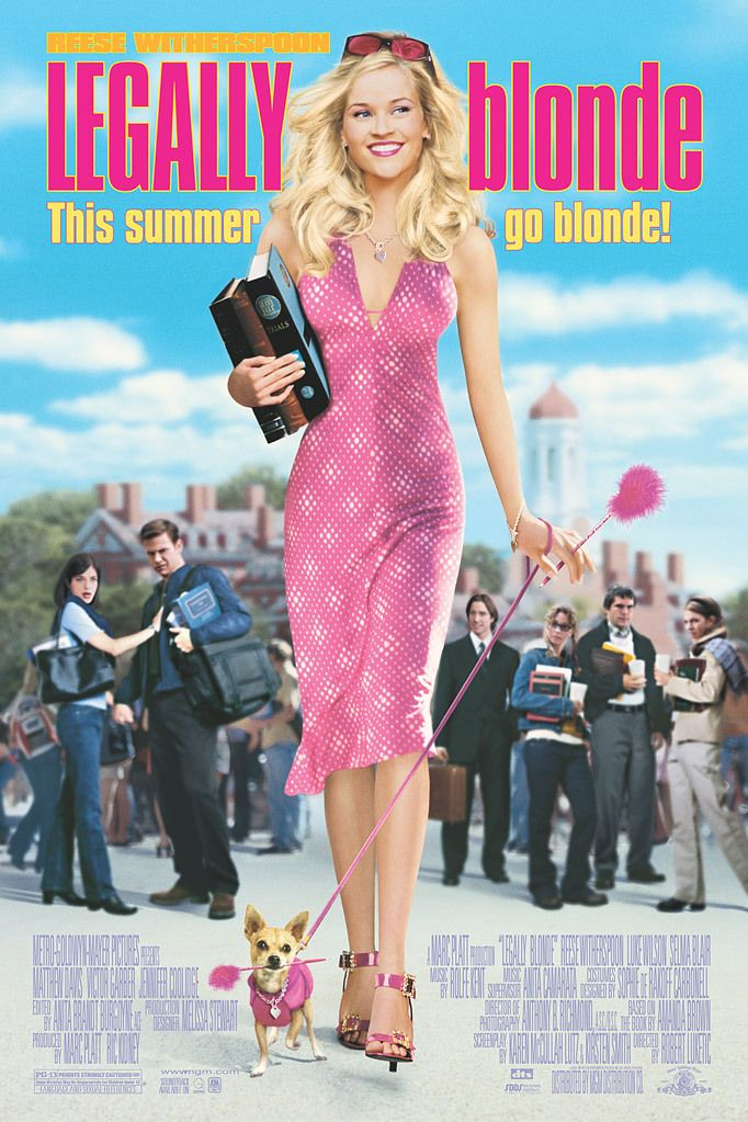 The Iconic Outfits of Elle Woods in Legally Blonde (2001)